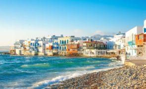 Holiday on Mykonos, Greece