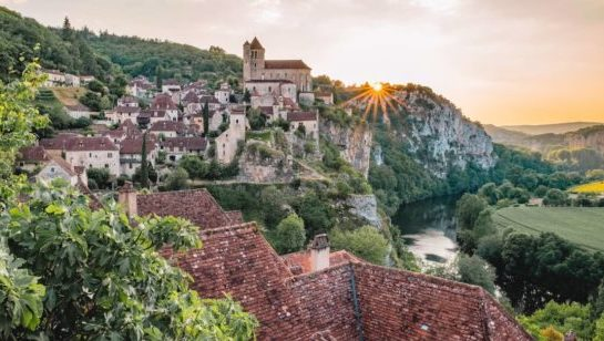 France cycling holidays: Sain Cirq Lapopie bike tour