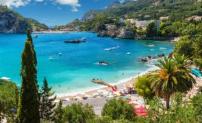 Holiday on Corfu, Greece