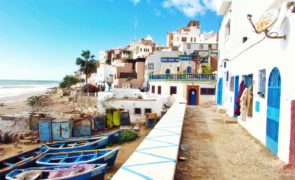 Holiday in Agadir, Morocco