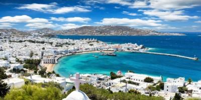 Holiday in Mykonos, Greece