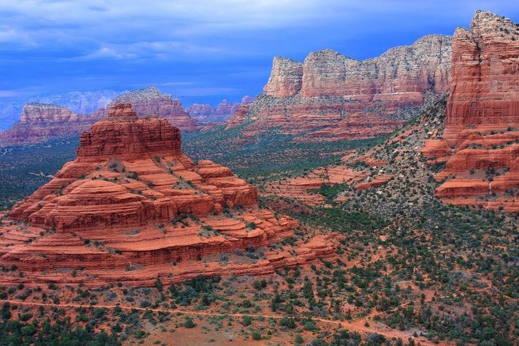 Hike in Sedona, Red Rock Canyon, Bell Rock