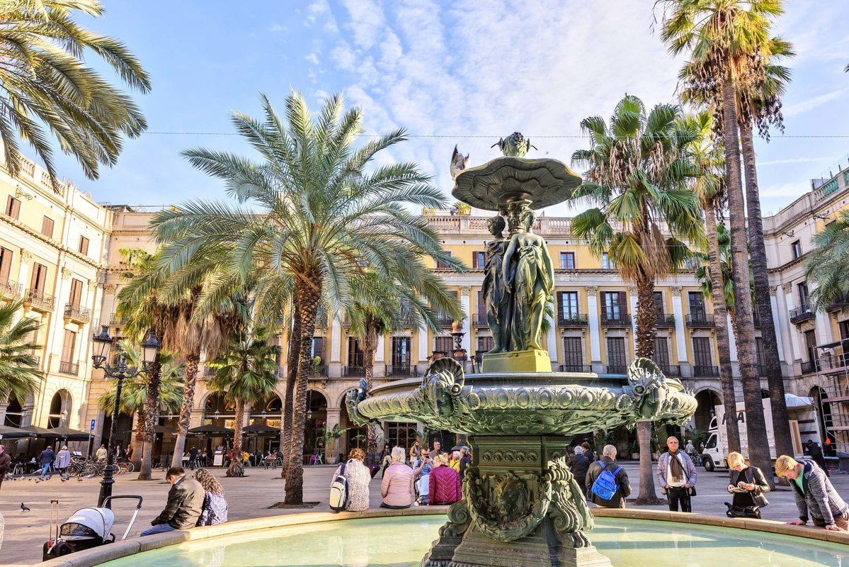 Holiday in Barcelona, Spain