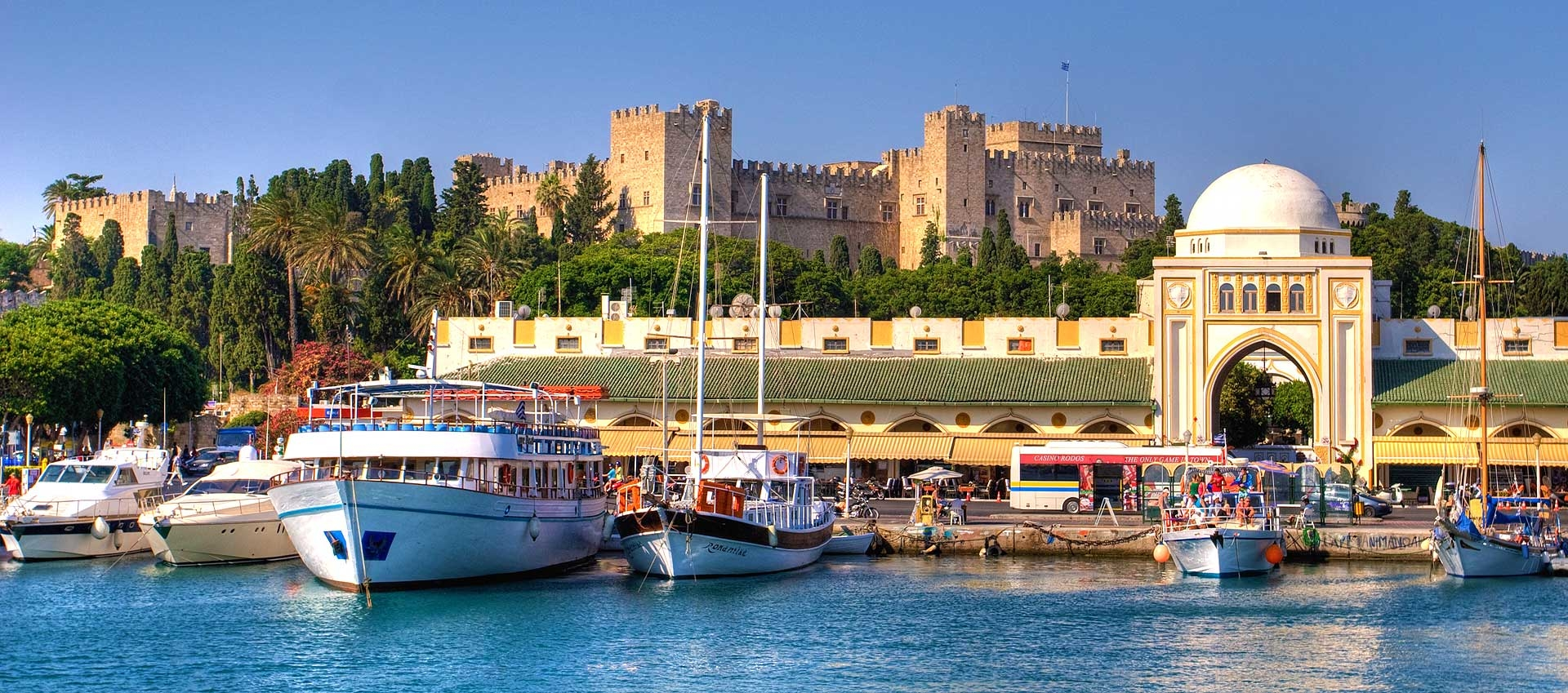 Holiday in Rhodes, Greece
