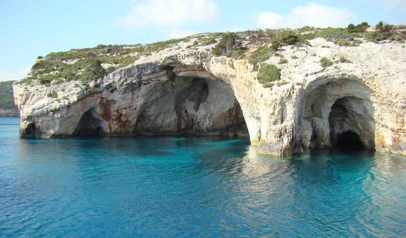 Smugglers Cove Zante Map