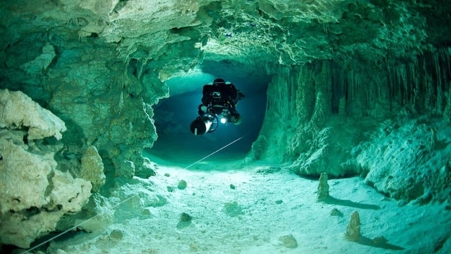 Zakynthos Underwater Cave Diving