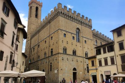 National Museum of the Bargello. Trip to Florence, Italy